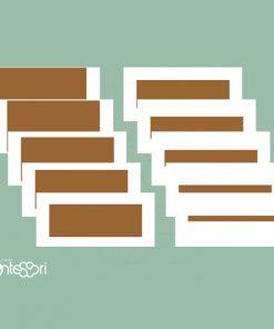 Cartes de l'Escalier Marron