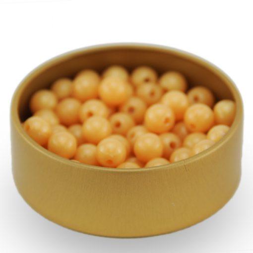 pot pour perles dorées