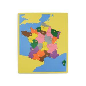 puzzle de la france
