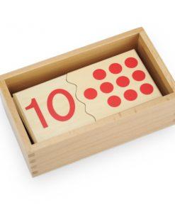 Puzzle Des Chiffres de 1 à 10