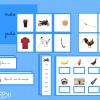 Série bleue Montessori