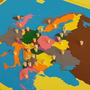 PUZZLE MONTESSORI EUROPE