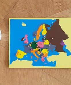 MONTESSORI PUZZLE EUROPE