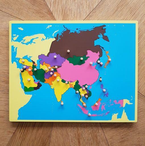 puzzle petit format montessori asie