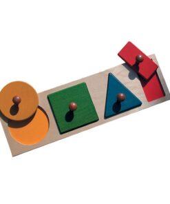 encastrement 4 formes géométriques
