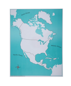 carte de controle de l'amérique du nord