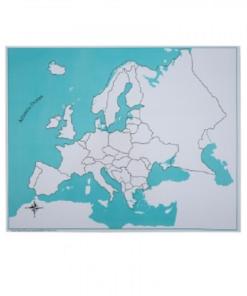 carte de controle de l'europe
