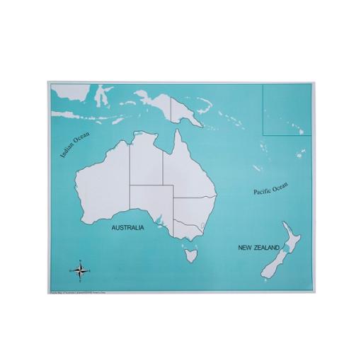 carte de controle de l'océanie
