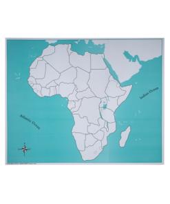 Carte de Contrôle de L'Afrique