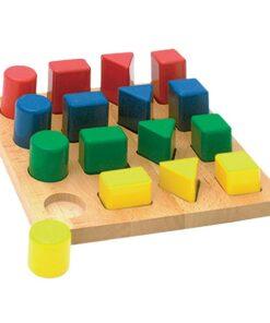 puzzle des formes décroissantes