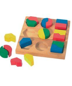 Puzzles Des Formes Symétriques